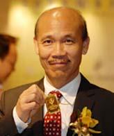 Vuoden 2007 mahjongin maailmanmestari Hui Chung-Lai